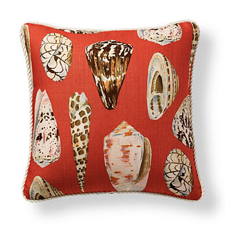 Scalamandre Coquina Nantucket Outdoor Pillow