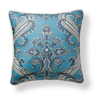 Scalamandre Hudson Indigo Outdoor Pillow