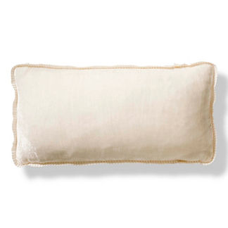 Velvet Ribbon Decorative Pillow