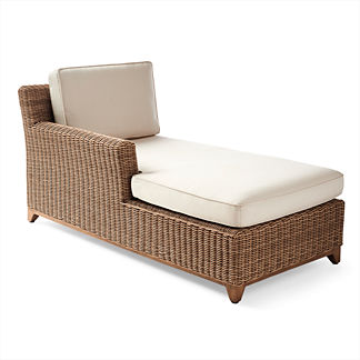 Somerset Left-facing Chaise Cushions