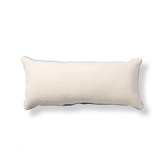 Piped Outdoor Lumbar Pillow