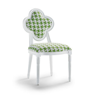 Quatrefoil Dining Chair