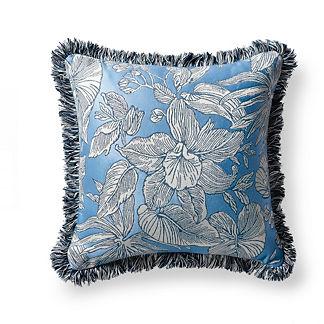 Bermuda Breeze Indigo Outdoor Pillow