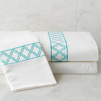 Moroccan Tile Pillow Cases, Set of Two