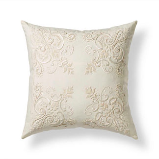 Velvet Baroque Decorative Pillow