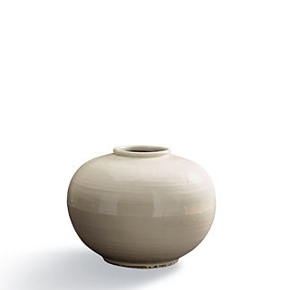 Blanc de Chine Low Pot