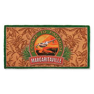 Margaritaville Logo Coco Mat
