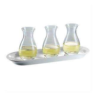 White Wine Quartino Flight Set