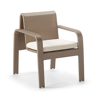 Arezzo Dining Arm Chair Cushion by Porta Forma