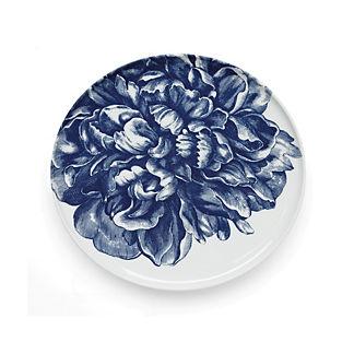 Blue Peony Dinner Plate