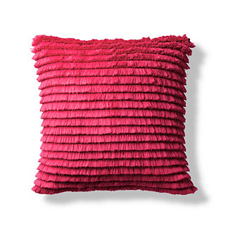 Zsa Zsa Fuchsia Outdoor Pillow by Porta Forma