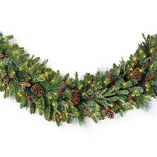 Christmas Cheer Cordless Garland