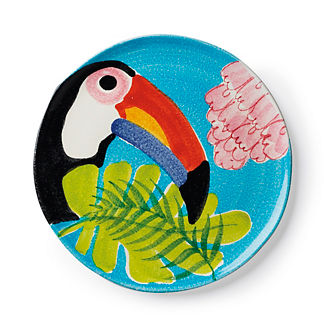 Tropicale Toucan Round Platter