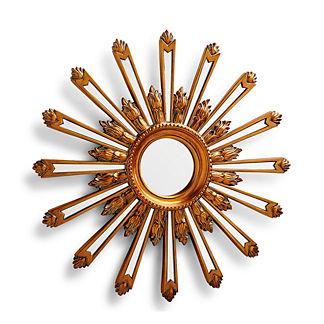 Faceted Sunburst Mirror