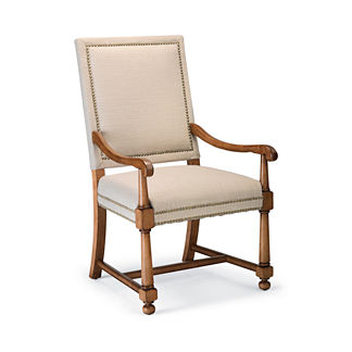 Tennyson Square Back Arm Chairs, Set of Two