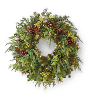Asheville Estate Cordless Wreath