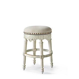 Provencal Grapes Swivel Backless Bar Stool (31