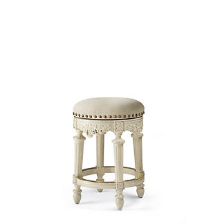 Provencal Grapes Swivel Backless Counter Height Stool (26