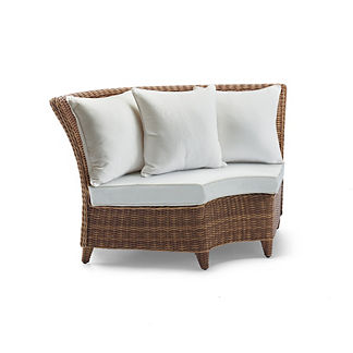 Beaumont Corner Chair with Cushions, Special Order