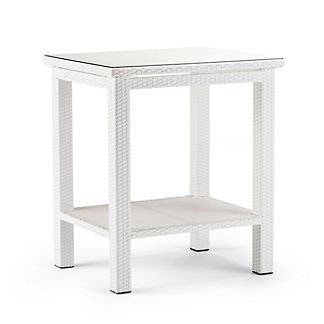 Palermo Counter-height Bar Table in White Finish