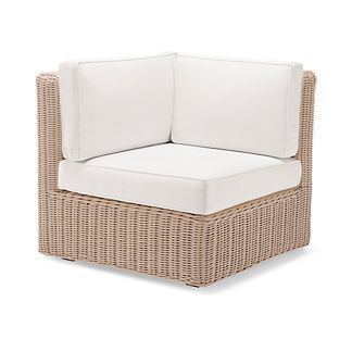 Hyde Park Corner Chair with Cushions in Ivory Finish