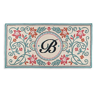 Antique Monogrammed Mat