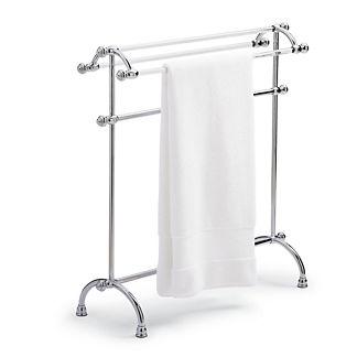 Belmont Acrylic Towel Stand