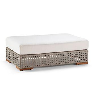 Palisades Ottoman with Cushion