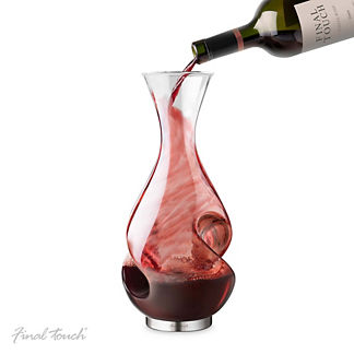 L'Grand Conundrum Wine Decanter and Aerator