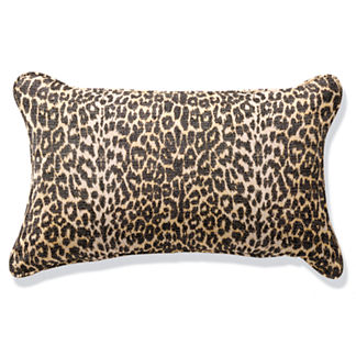 Outdoor Lumbar Pillow with Piping