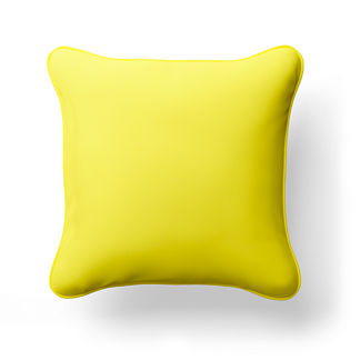 Solid Square Indoor/Outdoor Pillow