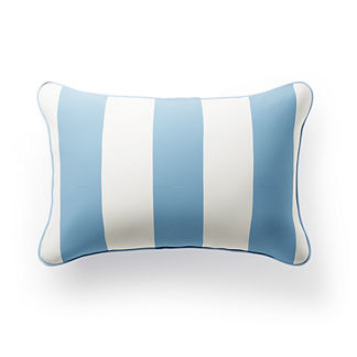 Striped Lumbar Indoor/Outdoor Pillow