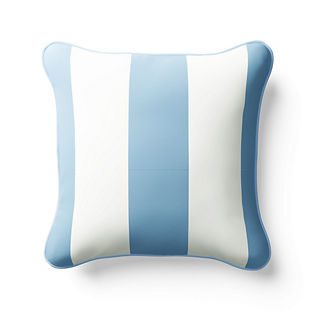 Resort Stripe Square Indoor/Outdoor Pillow