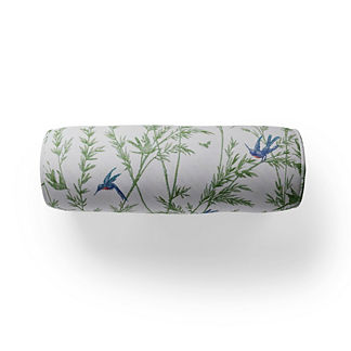 Evelyn Toile Bolster Indoor/Outdoor Pillow