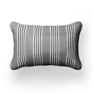 Berwyn Stripe Lumbar Indoor/Outdoor Pillow