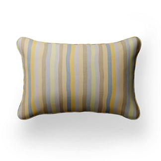 Caftan Mini Stripe Lumbar Indoor/Outdoor Pillow