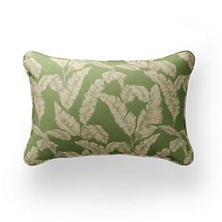 Harper Palm Lumbar Indoor/Outdoor Pillow