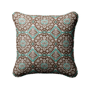 Carpet Medallion Indoor/Outdoor Pillow