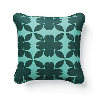 Sicily Floret Indoor/Outdoor Pillow