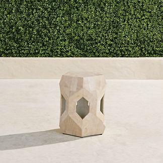 Pentagon Side Table