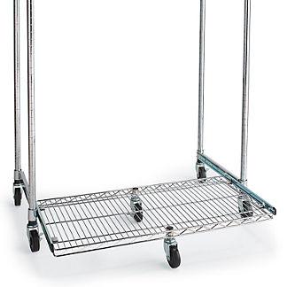 Chrome Pull-Out Sliding Shelf