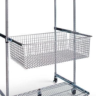 Chrome Shelving Pull Out Sliding Basket
