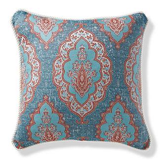 Royden Frame Chambray Outdoor Pillow