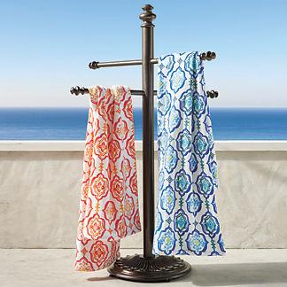 Trapani Aluminum Towel Stand