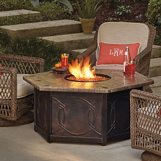 Hampton 5-pc. Chat Set with Provenca Custom Fire Table