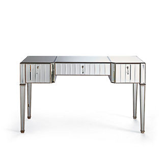 Sloane Beveled Mirrored Desk