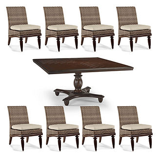 St. Martin 9-pc. Square Dining Set