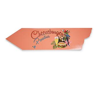Margaritaville Cheeseburger Directional Sign
