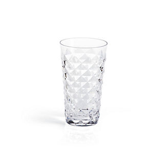 Diamond Cut Highball Glasses