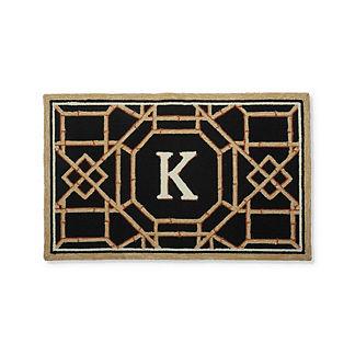 Batik Monogrammed Mat